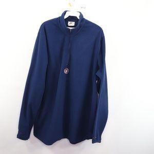 90s Nike Mens XL USA Hockey Fleece Sweater Blue
